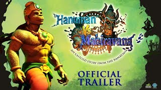 Hanuman Vs Mahiravana - Official Trailer - HINDI | In Cinemas June 2018