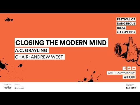 A.C. Grayling – Closing the ModernMind