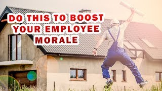 Here are top 5 tips to boost employee morale and motivation