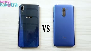Vivo V11 Pro vs Xiaomi Poco F1 SpeedTest and Camera Comparison