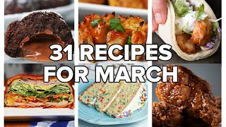 31 Recipes For Every Day Of March • Tasty Recipes