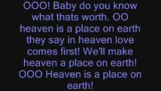 Ashley Tisdale-Heaven Is A Place On Earth-Lyrics