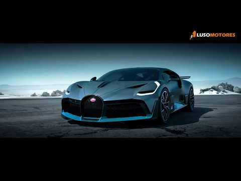 Bugatti Divo por... 5 milhões de euros!