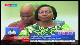 Narc-Kenya and three other political outfits endorse President Uhuru Kenyatta's 2017 re-election bid