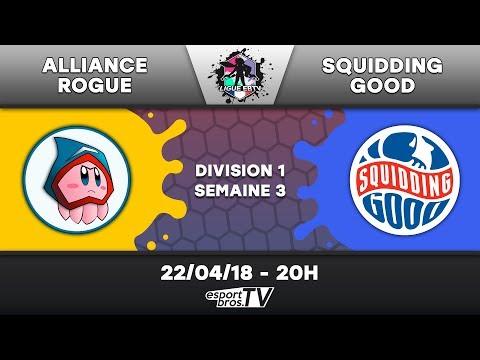 Ligue EBTV  - Alliance Rogue vs Squidding Good (Division 1)