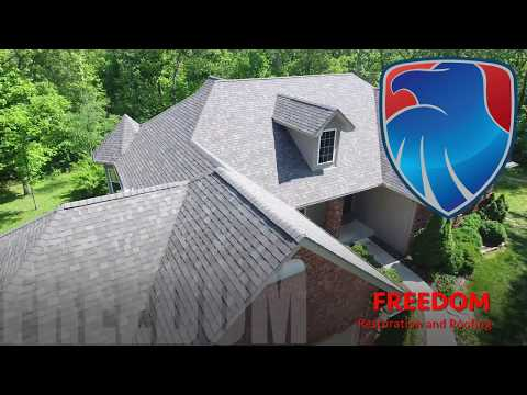 This Wright City, MO homeowner needed thier roof replaced and quick! They were in the process of closing and as part of the agreement the roof needed to be replaced and only had a few days to get it done. Freedom got the roof done in plenty of time and the homeowner was very thankful!