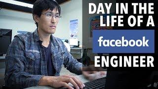 Смотреть онлайн Как проходит день у инженера фейсбука