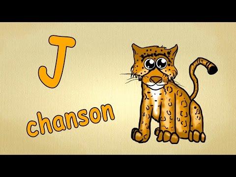 Apprendre l'alphabet  | lettre J-chanson