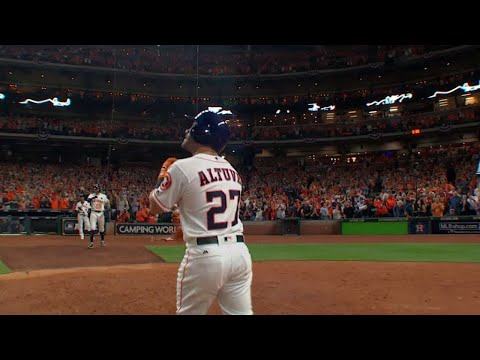 ALCS Gm6: Altuve belts a solo homer to left field
