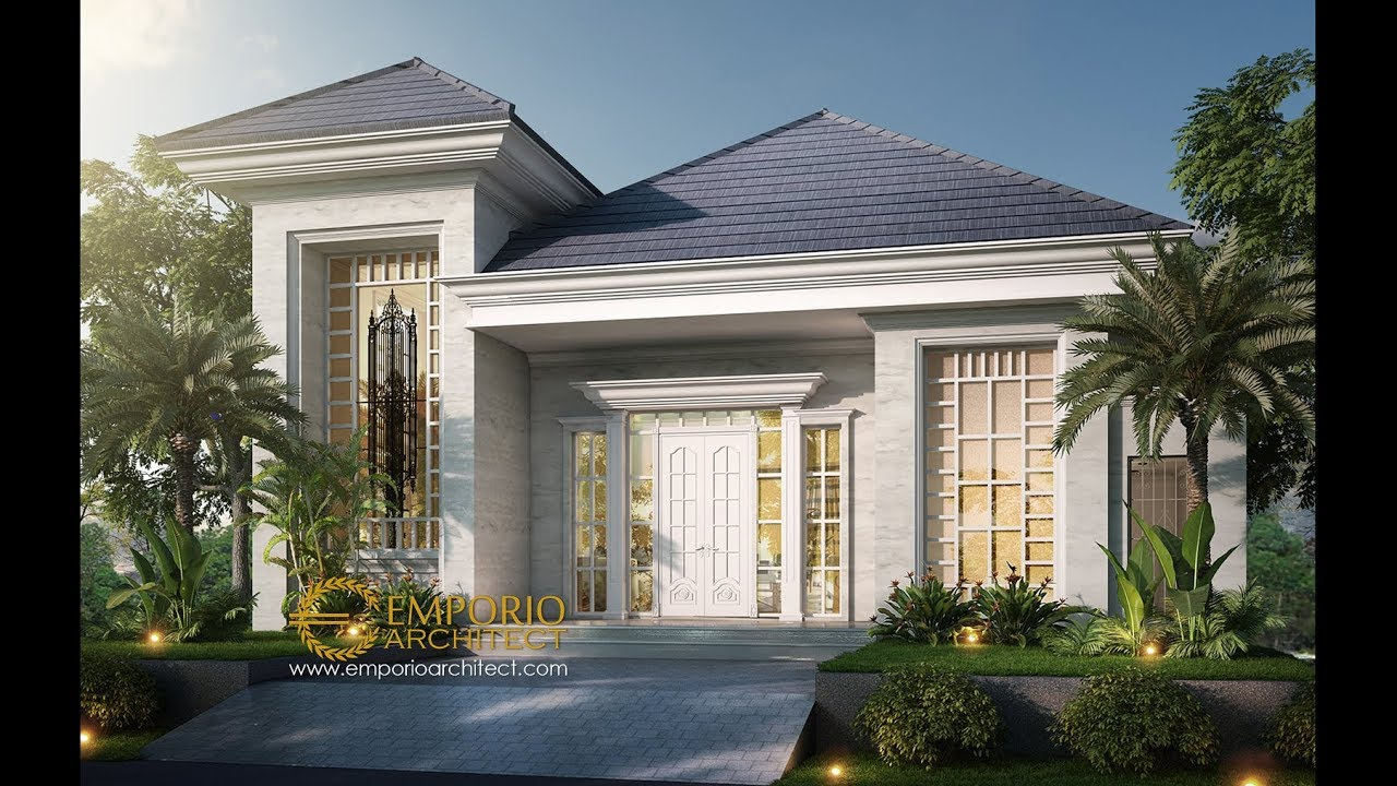 Video 3D Mr. Baron Classic House 2 Floors Design - Sentul, Bogor