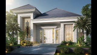 Video Desain Rumah Classic 2 Lantai Bapak Baron di  Sentul, Bogor
