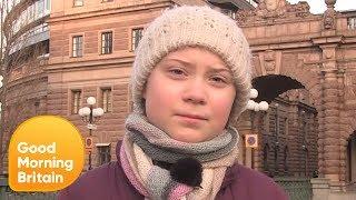 16-Year-Old Greta Thunberg
