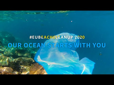 #EUBeachCleanup 2020: Our Ocean Starts with You