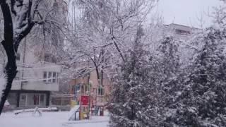 Пловдив - Зима в Болгарии, Выпал снег, Жизнь в Болгарии