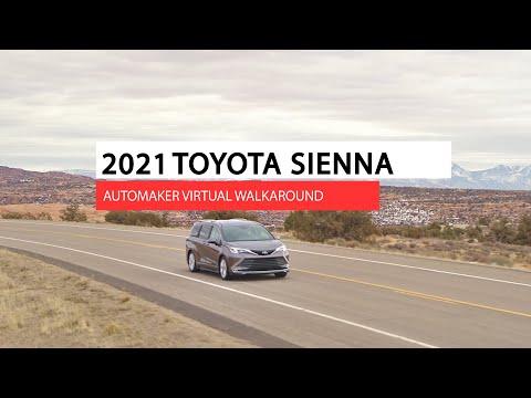 2021 Toyota Sienna virtual automaker walkaround