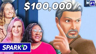 12 Pro Sims Players Compete For $100,000 In The Sims 4 • Spark'd Ep. 1