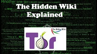 THE HIDDEN WIKI LINKS EXPLAINED  | DARK WEB LINKS 2017 | DARK WEB  EXPLORING