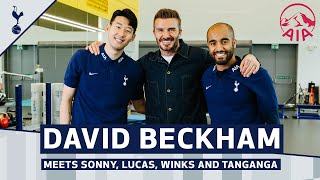 DAVID BECKHAM MEETS SONNY, LUCAS, WINKS & TANGANGA! | Purpose & Performance