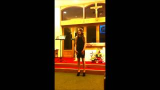 Charlotte sings Caccini's - Ave Maria