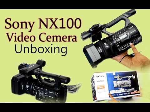 Sony Nx100 Video Camera In Hindi - Mid. Budget Best Video Camera (sony Camera)