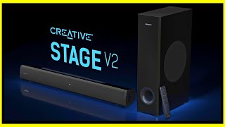 Creative Stage V2 | Soundbar mit Subwoofer für ~100€
