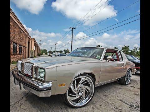 """Debos Customs : 78 Oldsmobile Cutlass on 24"""" Wheels"""