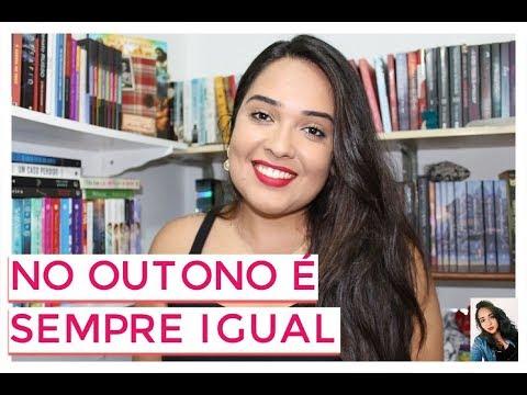 BOOK TAG NO OUTONO É SEMPRE IGUAL | Sibelly Maria