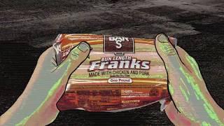 BAR S Hot Dog Ad