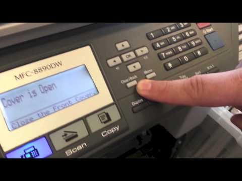 Brother MFC Printer - How To Clear The Brother Low Toner Error Mp3