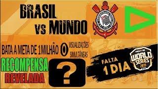 URGENTE! Recompensas e Metas da Live do Mundial no Brasil e Outros Servidores