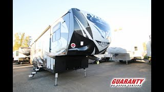 2018 Heartland Cyclone 4115 Toy Hauler Fifth Wheel Video Tour • Guaranty.com