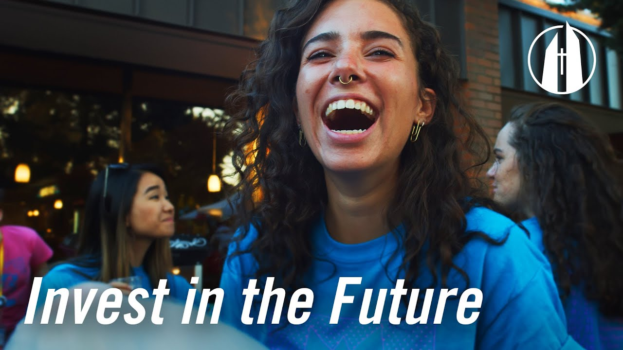 Watch video: Giving at George Fox University | Invest in the Future
