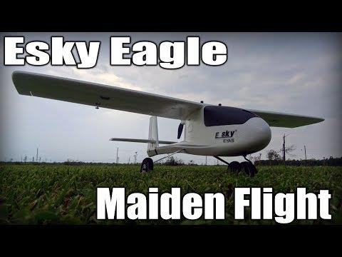 Esky Eagle (EYAS?) Maiden Flight