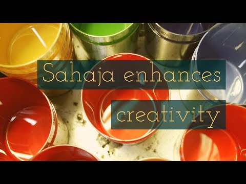 Sahaja meditation improves creativity
