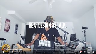 Ableton Push 2 Live Sample Chopping Performance (Beatdesign 33) Vocal Looping Moog sub 37