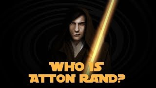 Who is Atton Rand? - Star Wars Characters Explained!!