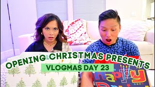 Opening Christmas Presents Early | Vlogmas 23, 2020 by ThatsHeart