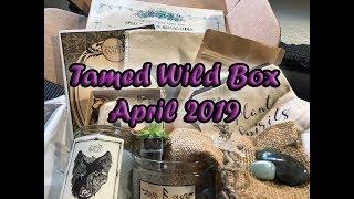 Tamed Wild Box April 2019