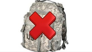army basic training packing list