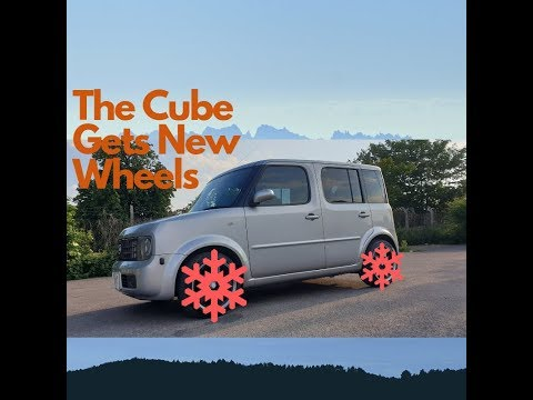 Making the Nissan Cube More Manly - New Alloys Wheels