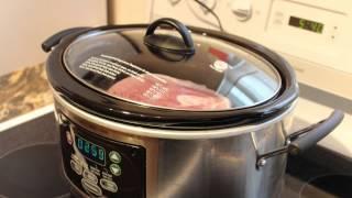 Slow Cooker Or Crock-Pot (Pork Shoulder Picnic Roast)