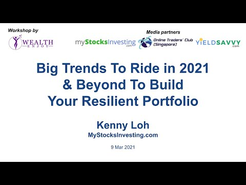 Webinar – How to build your Investment Portfolio and Ride Big Trends in 2021 by Kenny Loh