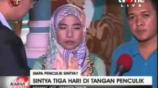Mengungkap Siapa Penculik Sintya Terekam Di CCTV  Kabar Petang 22 Juli 2015