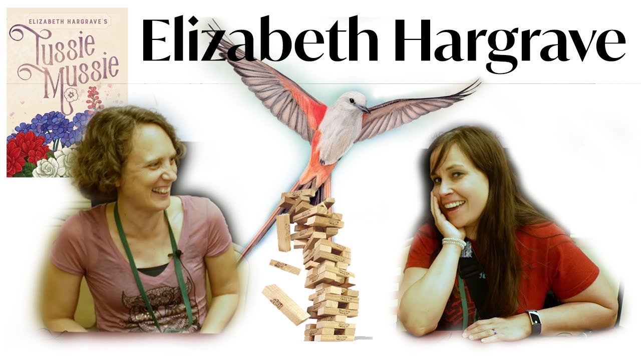Elizabeth Hargrave - Jenga Interview (WashingCon 2019)