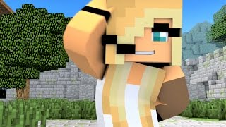 """Minecraft Songs """"Fight Like A Girl"""" Psycho Girl 3 and Little Square Face Minecraft Songs"""
