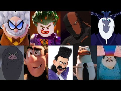 defeats of my favorite animated non disney movie villains pa