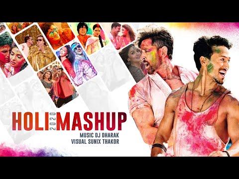 Holi Mashup 2020   DJ Dharak   Sunix Thakor   Holi Special Songs