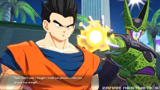 Dragon Ball FighterZ - Cell Meets Adult Gohan &  Roasts Him