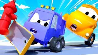 Odtahové auto pro děti - Roztržité řízení Odtahové auto Tom ve Městě Aut
