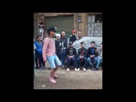 بنت ترقص شعبي علي مهرجان وتغلب الولد في الرقص 2018